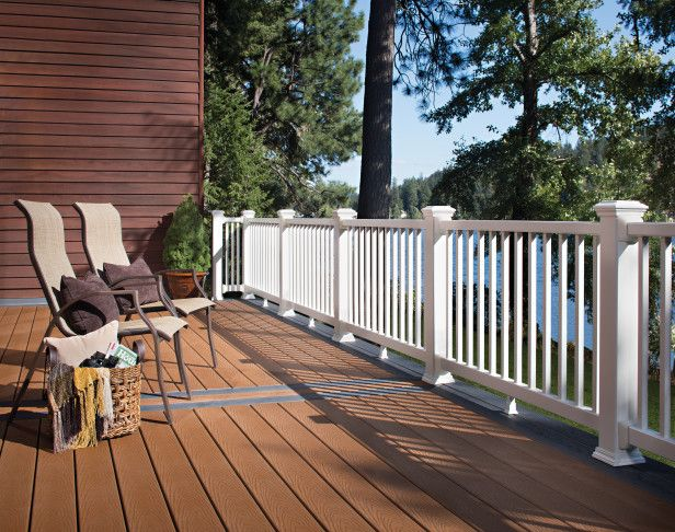 17 best images about patio and deck ideas on pinterest for Non wood decking material