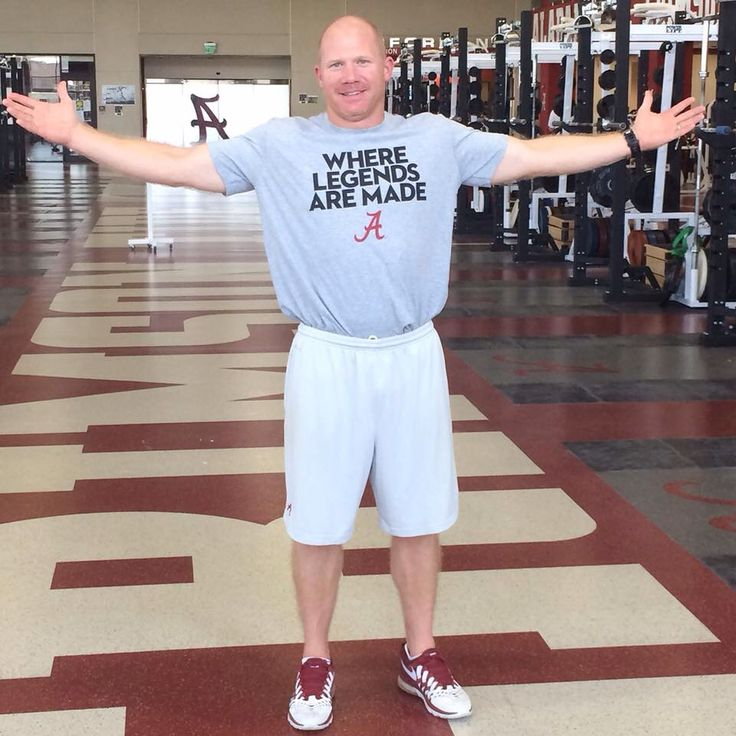 Scott Cochran, the team's Director of Strength and Conditioning.  Yeah, Yeah, Yeah!!