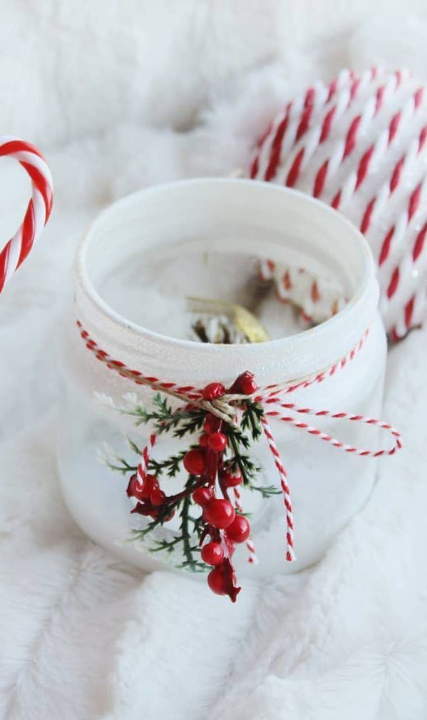 25 Great Christmas Jars Ideas To Decorate Your Home Page 12 Of 24 Newyearlights Com Christmas Jars Pinterest Christmas Crafts Christmas Jar Gifts
