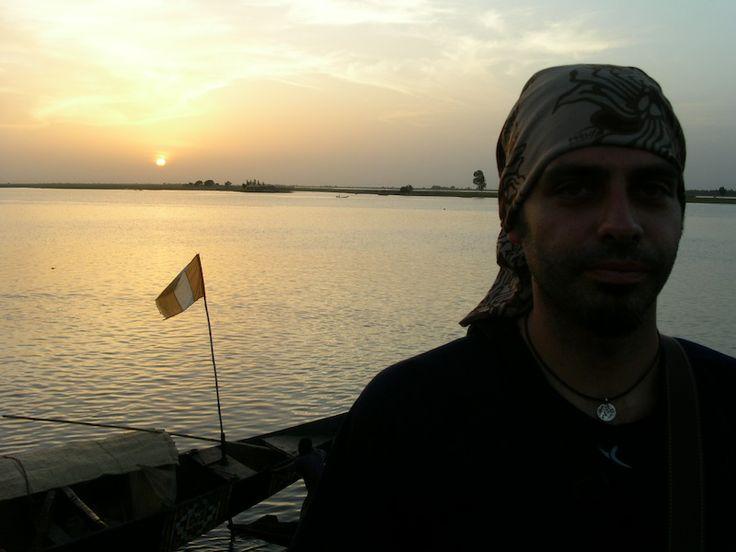 In Niger river - Mali.