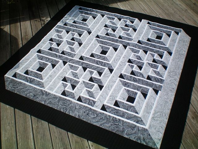 56 best Labyrinth walk images on Pinterest | Patterns, Carpets and ... : labyrinth quilt pattern free - Adamdwight.com