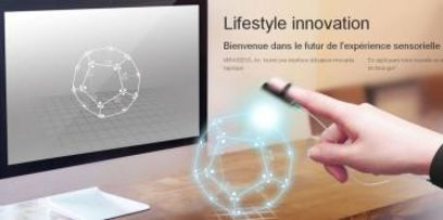 La 3D haptique pour toucher la réalité virtuelle