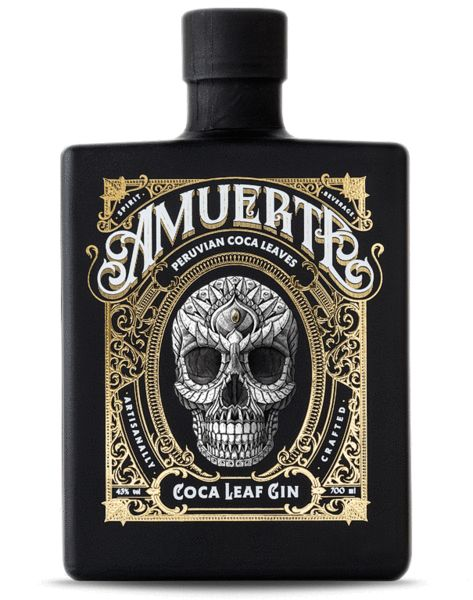 Amuerte - Coca Leaf Gin #gincocktails Don't forget to come and see us at http://bakedcomfortfood.com!
