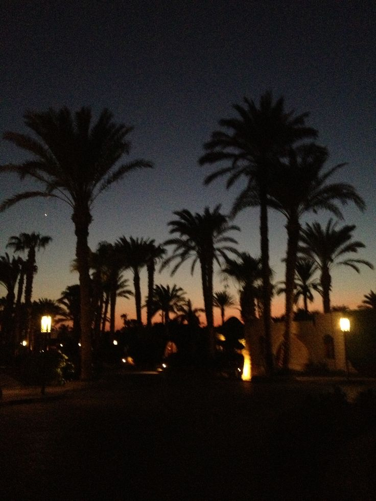 Sunset Hurghada