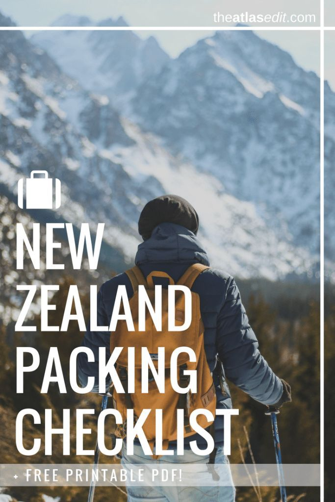 New Zealand packing checklist (1)
