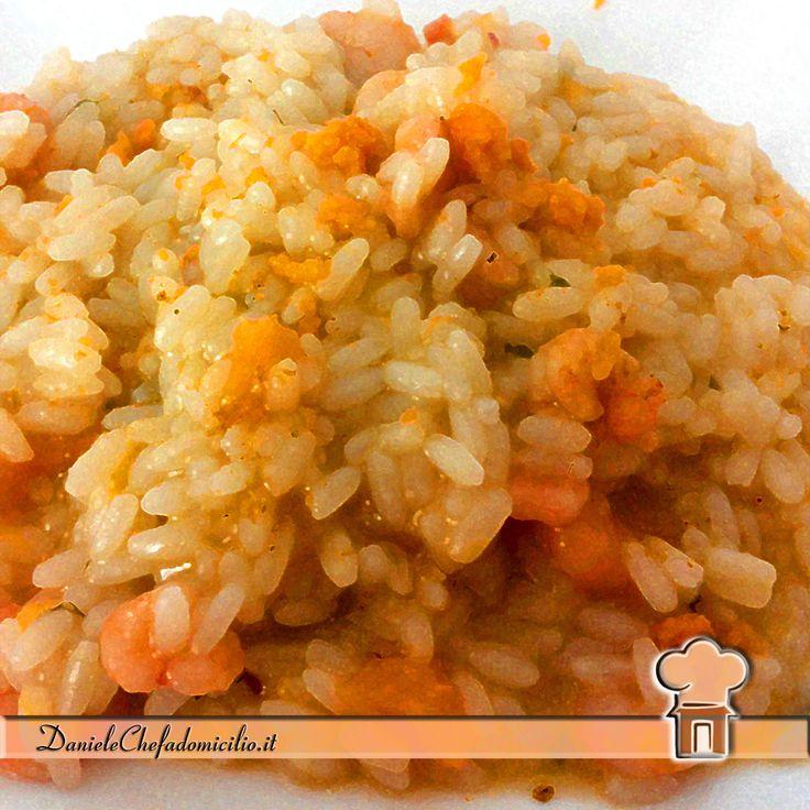 Avete preparato la vostra zucca per Halloween?? Io l'ho usata nel risotto con gamberetti: è paurosamente delizioso ! www.danielechefadomicilio.it