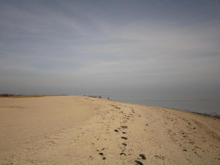 Schöner Strand soweit das Auge reicht