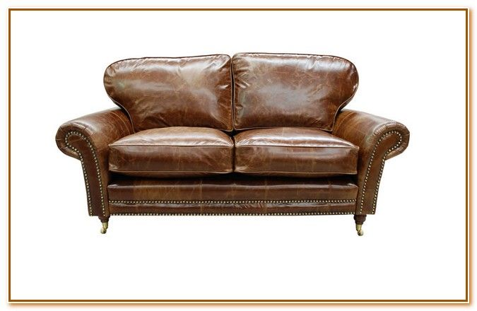 Vintage Brown Leather Sofas