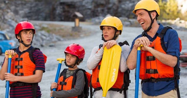 'Vacation' Remake Photos Tease Griswold Family Road Trip -- Ed Helms stars as Rusty Griswold, who re-creates his first family trip to Walley World in New Line Cinema's 'Vacation' remake. -- http://movieweb.com/vacation-movie-remake-photo-gallery/