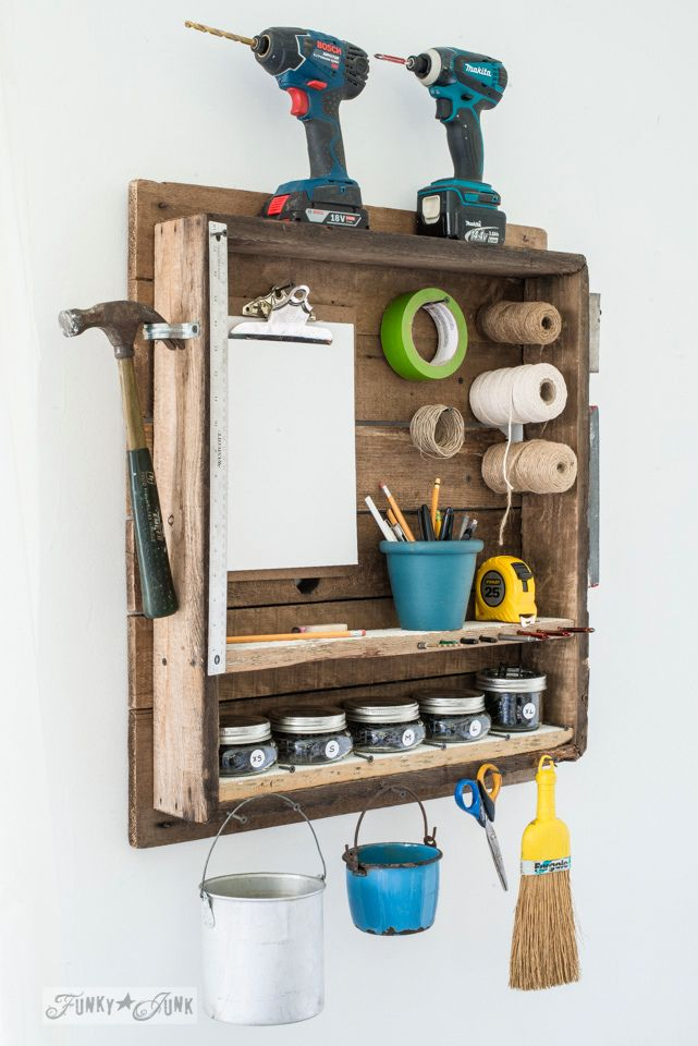 411 best images about funky junk guides collections on for Funky shelving ideas