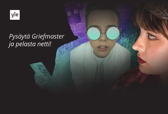 Pysäytä Griefmaster ja pelasta netti! Rosan koodi -pelissä kerätään koodeja ja seurataan supersankari Rosan seikkailua.