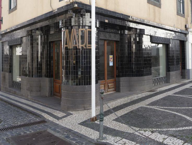 Funchal | Loja / Shop Tavares | 1930-1940 #Azulejo