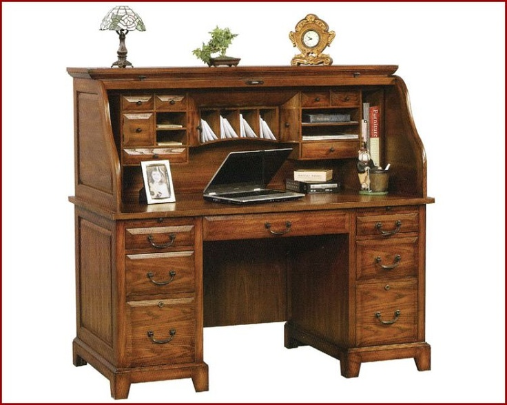 Zaharah's Roll Top Desk