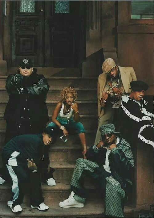 Fat Joe, Eve, Busta Rhymes, Redman, and two I'm not sure of.