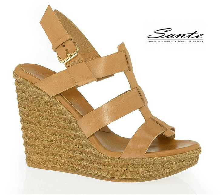 Sante Wedges Spring/Summer 2014 Collection. Discover it on: www.santeshoes.gr