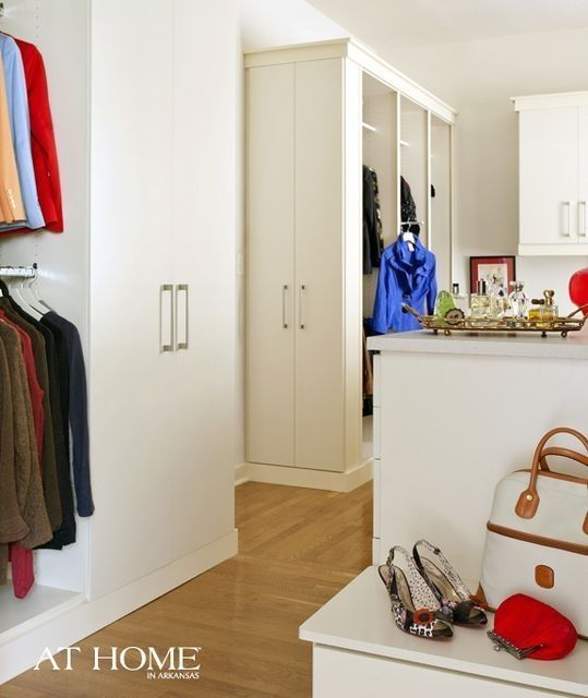 Closet Design By Closet Factory Of Arkansas, Photographed By Nancy Nolan  For At Home In Arkansas Magazine