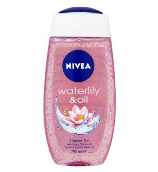 NIVEA Waterlily and Oil Shower Gel 250ml - Boots