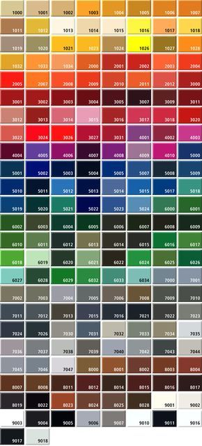 Pin By Alan Schlickbernd On Stuff To Buy Ral Colours Colours