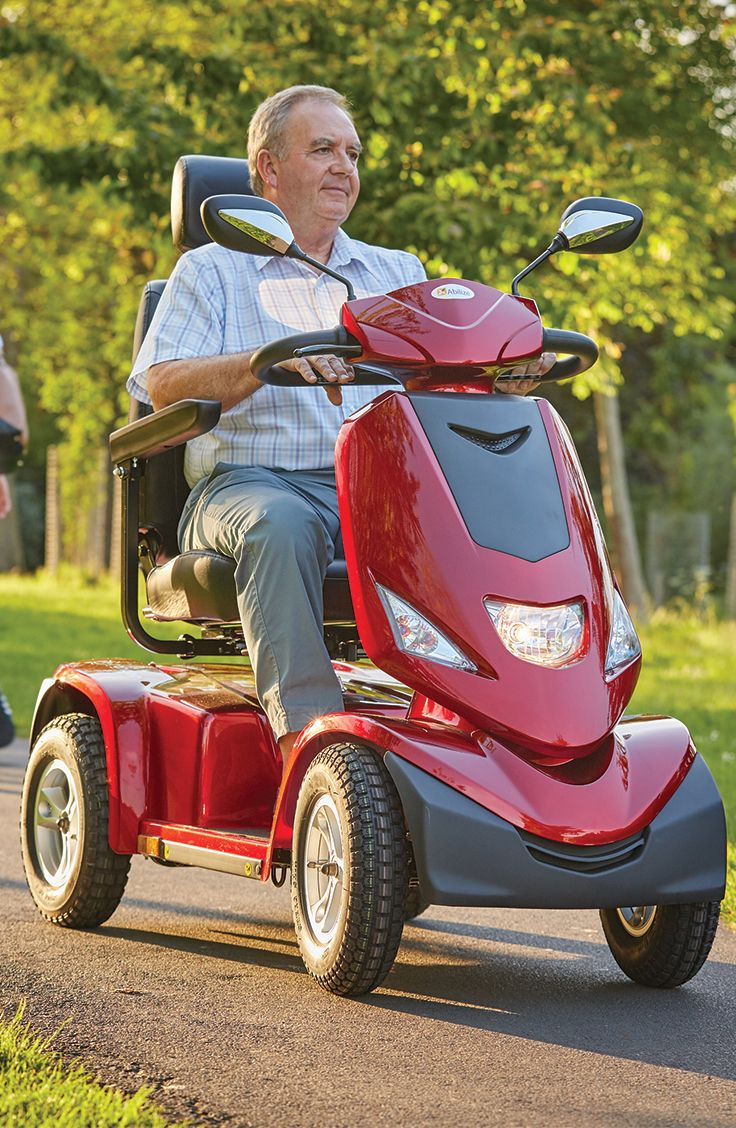 If you love getting outdoors then the Abilize Ranger is the perfect mobility scooter for you. With a cutting edge design the Ranger has all round suspension for an enjoyable and smooth ride.