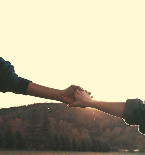 The friend who holds your hand and says the wrong thing is made of dearer stuff than the one who stays away. ~Barbara Kingsolver