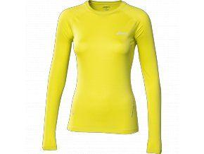 Běžecké tričko ASICS LS Top dlouhý rukáv (citrónová). Dámské běžecké tričko Asics vyniká fluo citrónovou barvou, reflexními prvky a skvělými vlastnostmi pro běh při mírně chladném počasí. Kupte online na www.move-it.cz