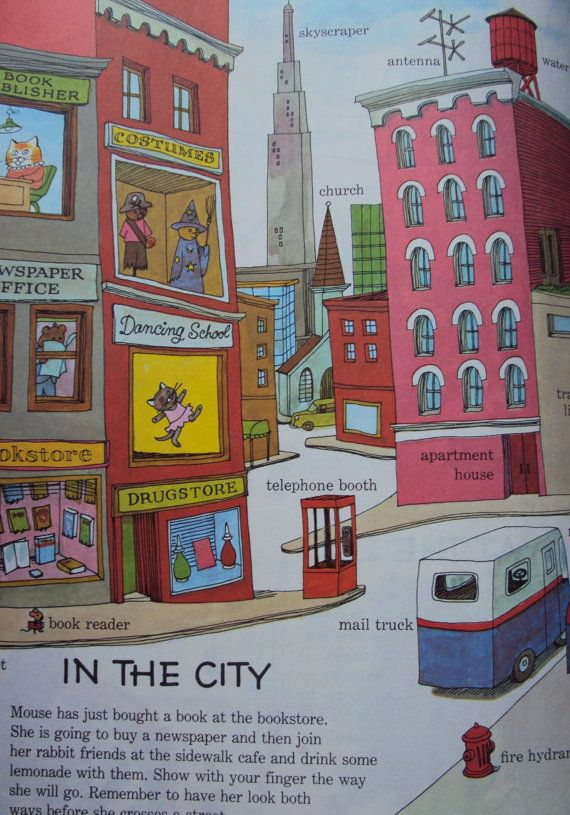 | Richard Scarry's Best Word Book Ever by Richard Scarry ...