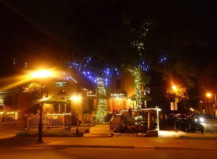 Summer nights wandering the patios!   Downtown Burlington, Ont