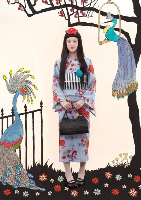 japanese modern Kimono