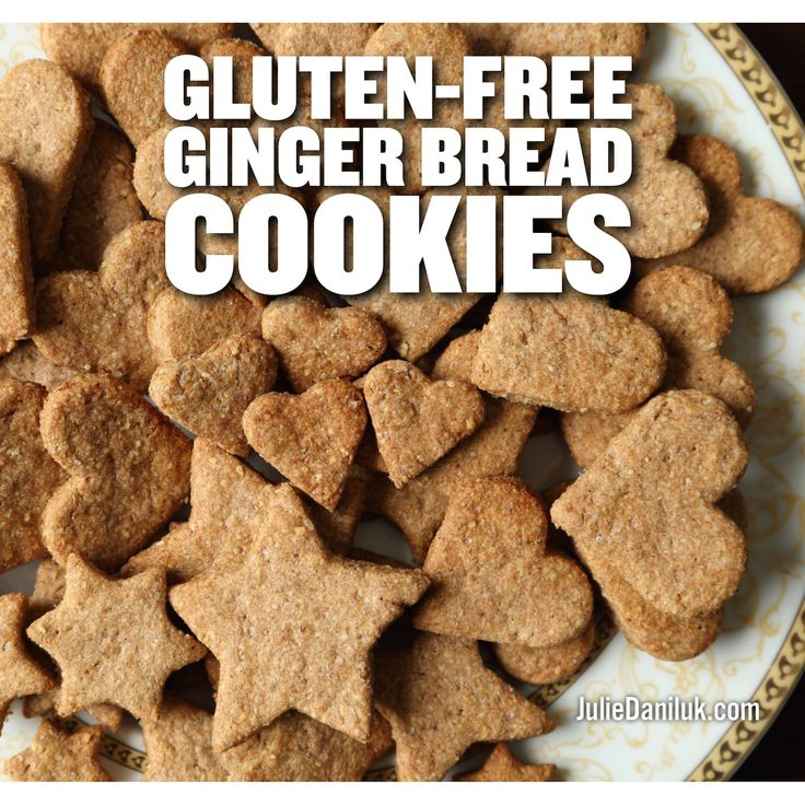 Gluten-Free Ginger Bread Cookies