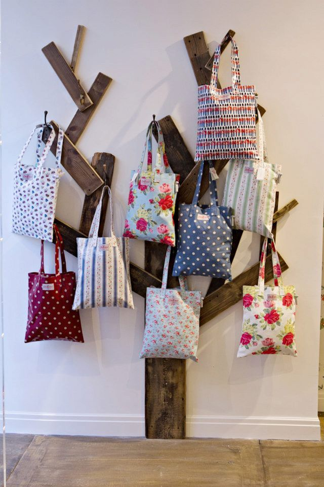 Inspired Bag Display By Cath Kidston Brilliant Diy Pinterest And Purse