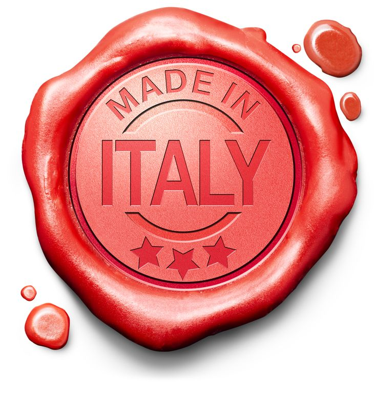 "In 2009, the Italian law (Law 135, September 25th, 2009 - Chamber of Deputies, Parliament of Italy) stated that only products totally made in Italy (planning, manufacturing and packaging) are allowed to use the labels Made in Italy, 100% Made in Italy, 100% Italia, tutto italiano in every language, with or without the flag of Italy. Each abuse is punished by the Italian law.[5]  Compared with ""Made in Germany"" ('all essential manufacturing steps') and ""Made in the USA"" ('all or virtually…"