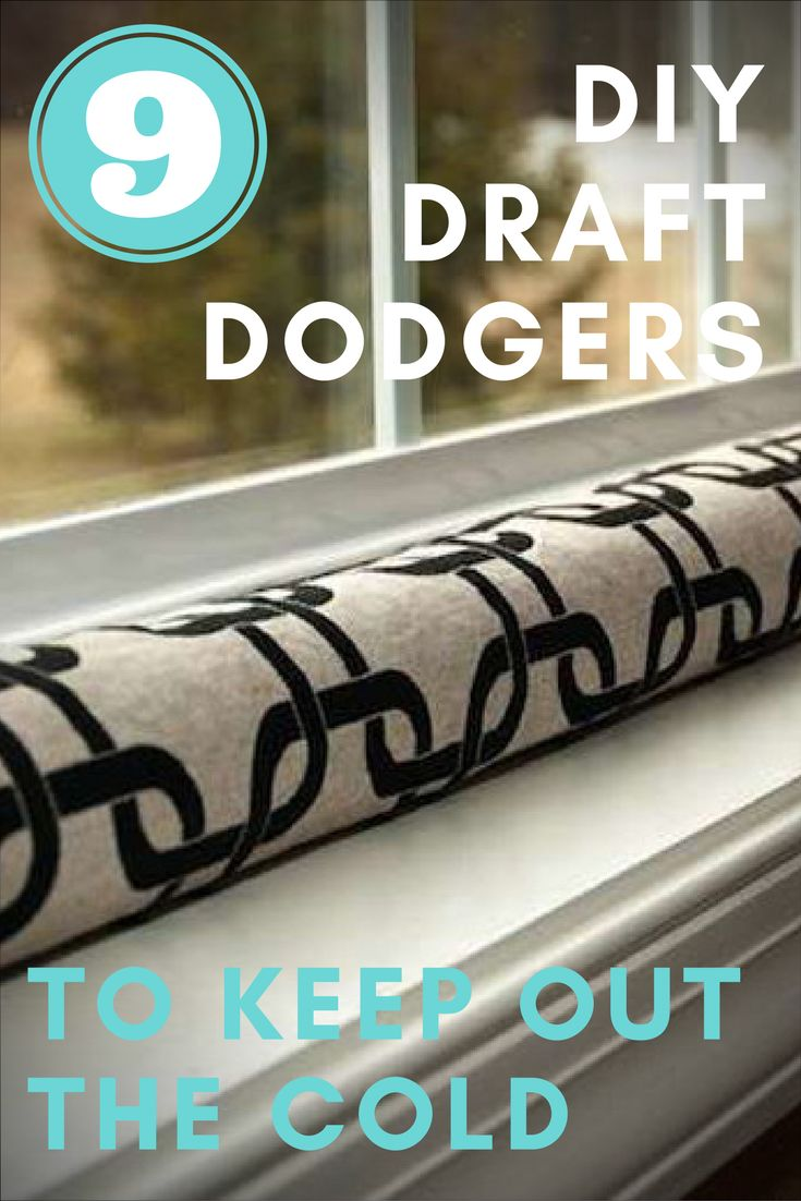 When the weather gets cold and frightful, you want your home to be a warm retreat. In some homes, you may need to stop drafts in order to achieve this cozy end. Enter the draft dodger—a simple and inexpensive way to stop cold drafts from entering your home in winter. These easy DIY draft stopper projects will help you stop drafts quickly, on the cheap.