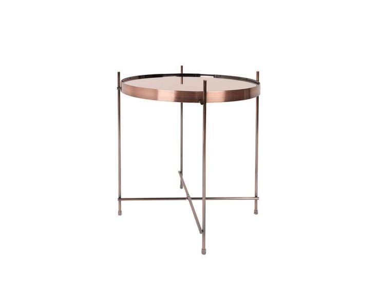 Table basse design ronde cupid small zuiver - couleur - cuivre 2300038 - pas cher ? C'est sur Conforama.fr - large choix, prix discount et des offres exclusives Table basse sur Conforama.fr