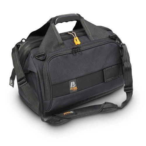 Petrol Bags PC003 Deca Dr. Bag-3 for Cameras - Black by Camera Dynamics Inc.. Save 26 Off!. $170.18. From the Manufacturer                Petrol's Deca Dr. Bag is a new design based on an industry favorite, the Dr. Petrol Camera Carrier. The new Dr. Bag boasts a sleek, sophisticated design in striking black 900D and ballistic nylon fabrics and is packed with industry leading new features. Every Deca Dr. Bag carrier sports a plastic exchangeable logo frame that lets the user easily add ...