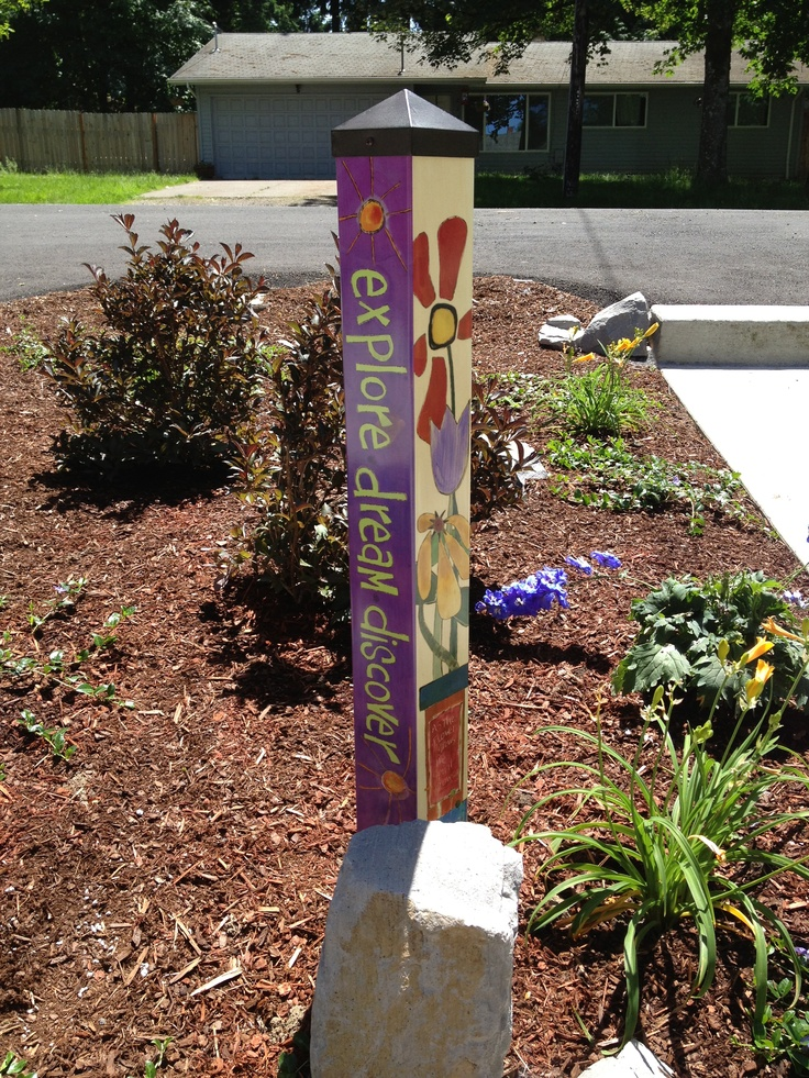 Love This Peace Pole By Stephanie Burgess And Made By Studio M/Magnet Works!