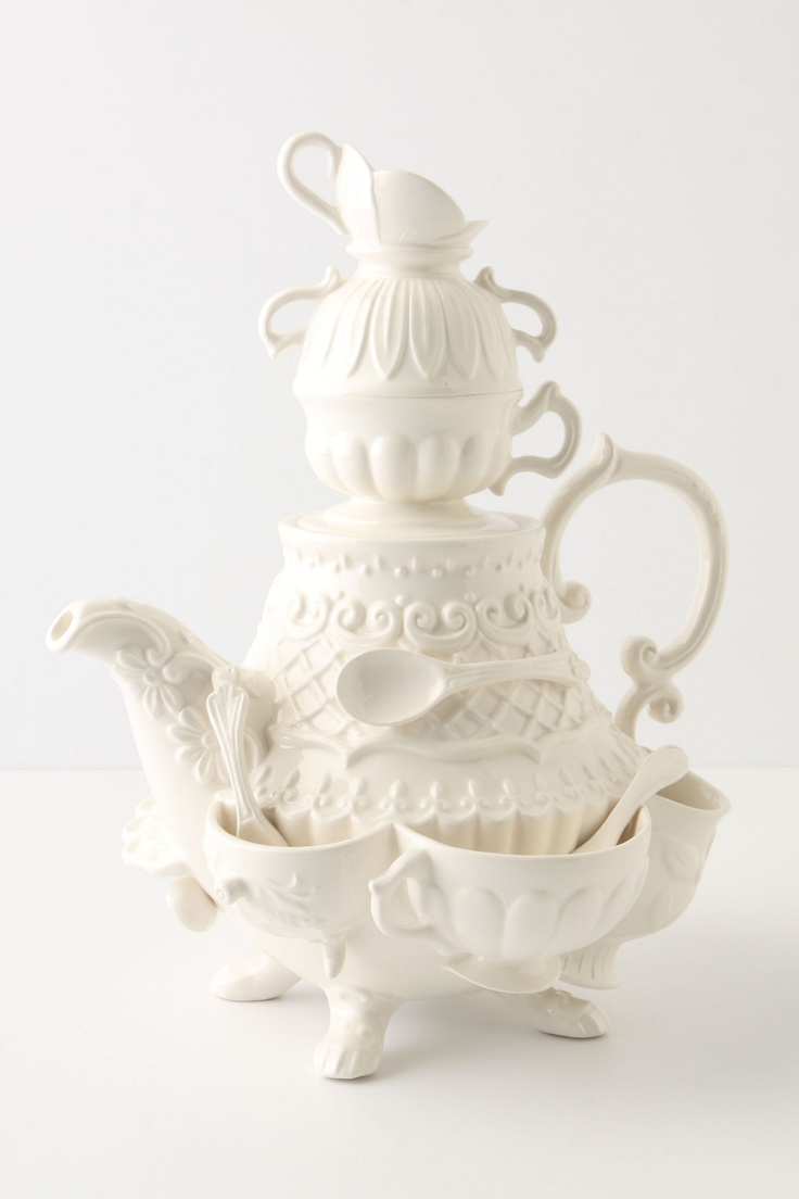 Stanhope Teapot - Anthropologie.com
