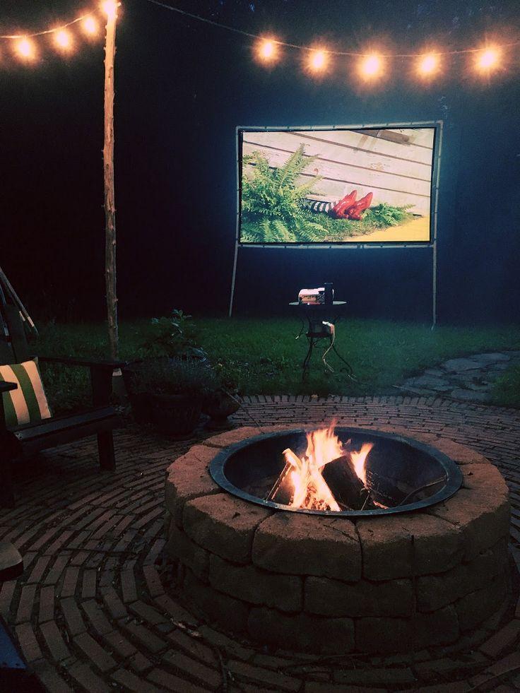 Easy Diy Outdoor Movie Screen