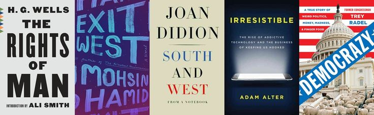 Never-before-seen writings from Joan Didion, H.G. Wells's classic manifesto The Rights of Man, rare interviews with Elton John, and more.
