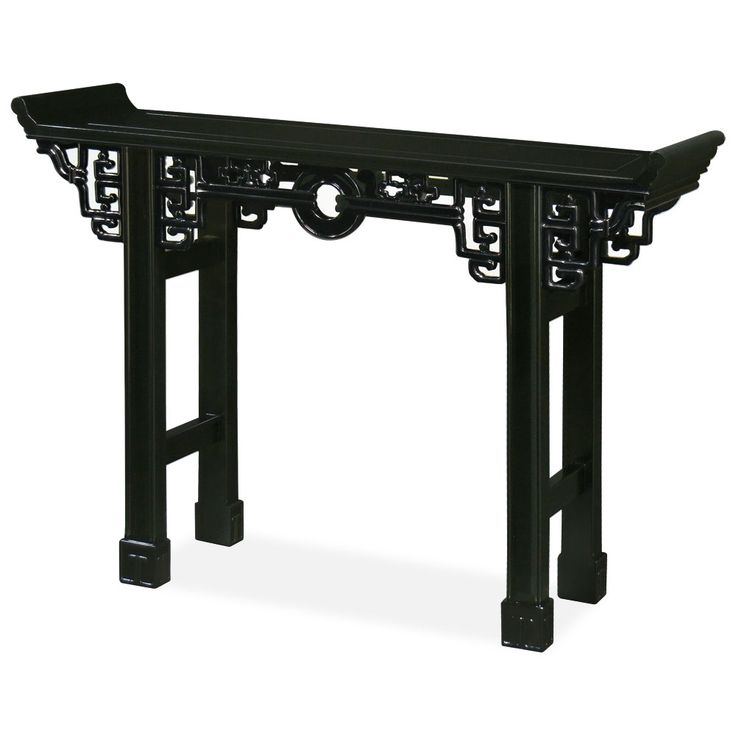 Foyer: Antique Style Chinese Altar Table.