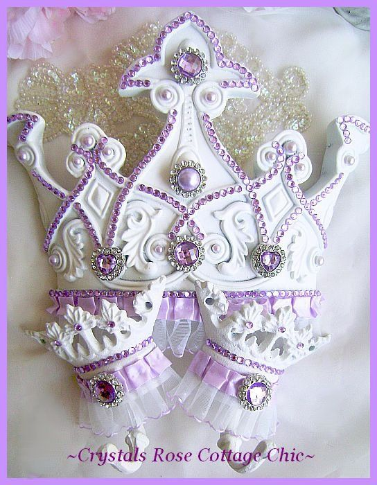 Lilac Bed Crown Canopy Set Lavender Light Purple Princess Room Decor Girls Room Nursery Baby Shower Gift For Girl on Etsy, $77.00