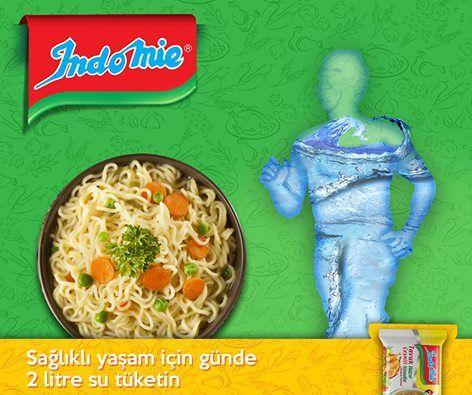 Indomie noodle ile günlük su ihtiyacınız bir kısmını karşılayabilirsiniz. #SenYemeğiDüşünme #ŞimdiYe #noodle #indomienoodle #indomiefun #cupnoodles #water