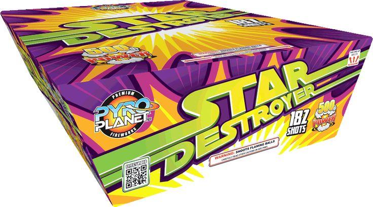 Star Destroyer 182 Shot | NCI, Inc. Indiana Fireworks Wholesale