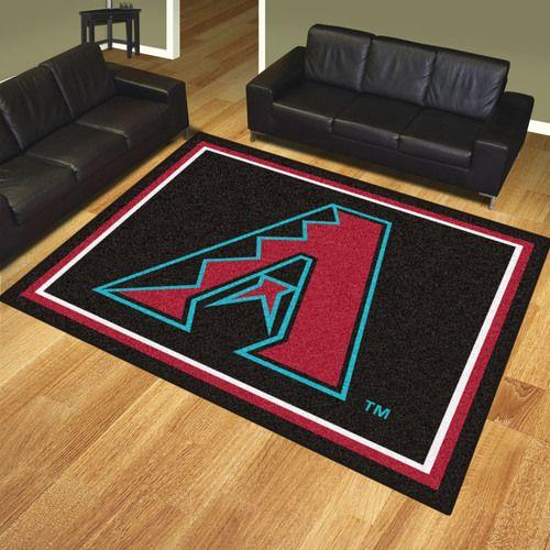 Arizona Diamondbacks 8' X 10' Decorative Ultra Plush Area Rug