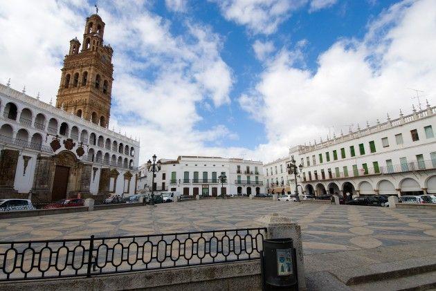 Plaza Mayor de Llerena