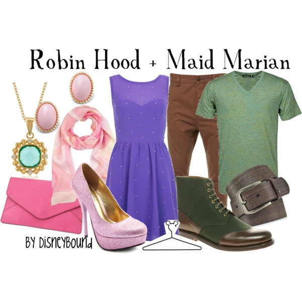 Robin Hood and Maid Marian couples outfit