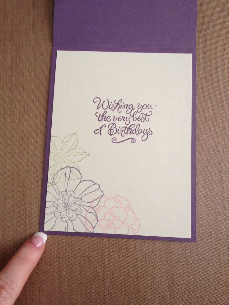 28 best Card Inner Ideas images on Pinterest Making cards