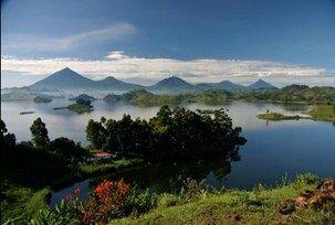 Lake Mutanda, Uganda