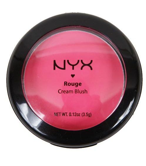 NYX, кремовые румяна Rouge Cream Blush, 550 руб.