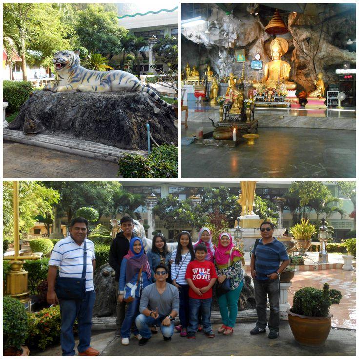Temple visit, Krabi, Thailand