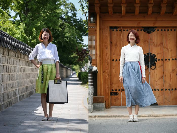 Everyday Hanbok designs (photo: Sonjjang Design Hanbok)
